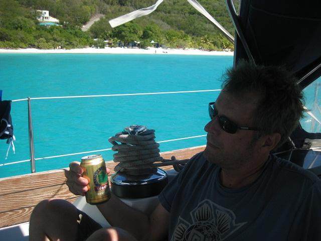 Chillen in der White Bay_British Virgin Islands