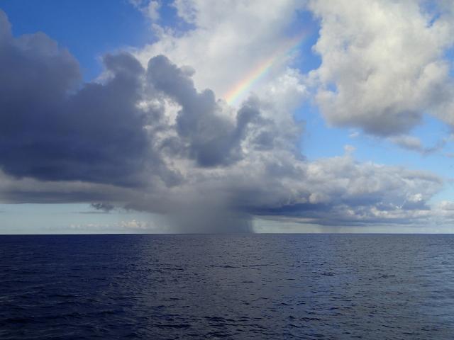 Wolkenspiel auf dem Nordatlantik