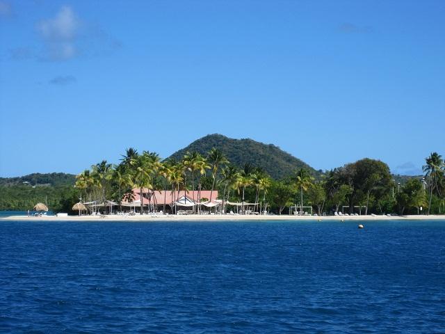 ein Strand in der Bucht von Le Marin_Martinique