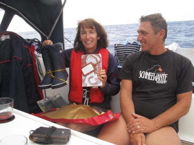 und noch ein Geburtstag auf See