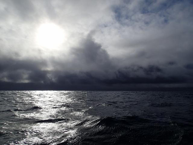 unheilvolle Wolkenbilder