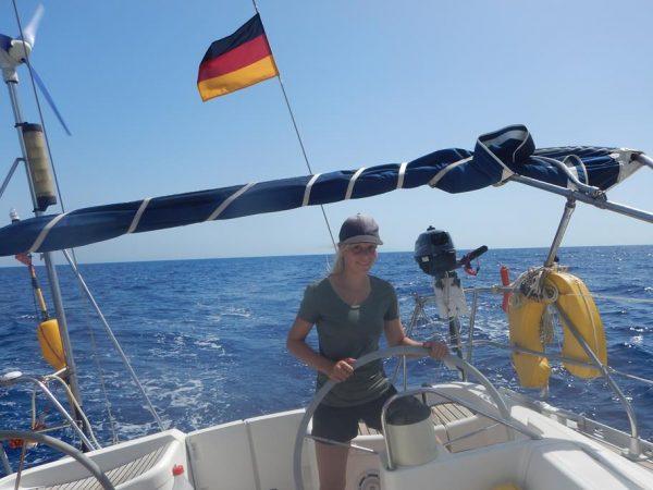Beste Segelbedingungen bei Elba