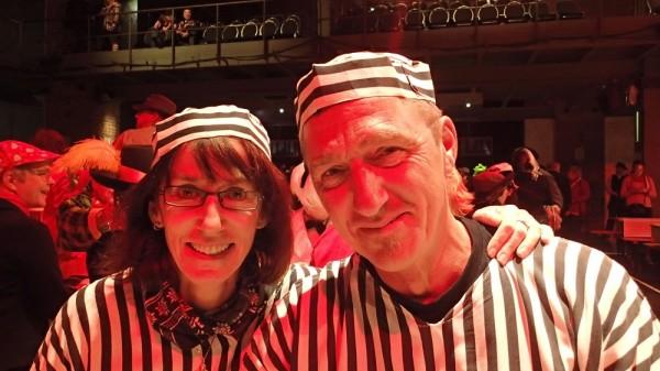 """Karin und Jörg im Kölner Karneval vor der boot – """"Wollt Ihr wirklich bei den beiden einen Törn buchen?"""""""