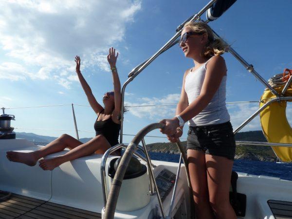 Super Segeln bei Elba