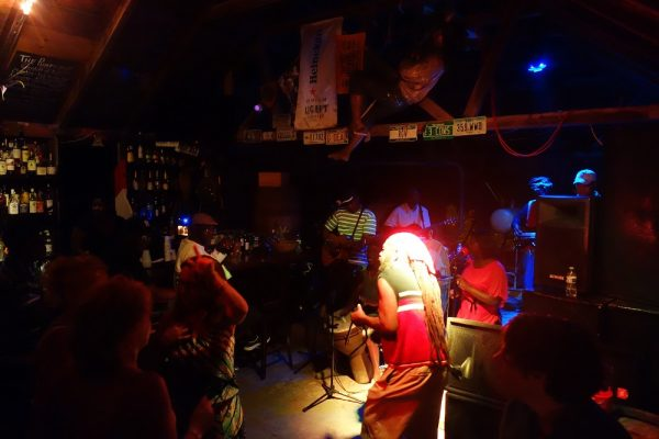 Live Musik im Pumphouse in Anguilla