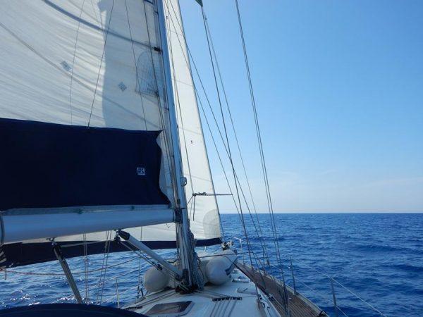 Perfekte Bedingungen bei unserer Überfahrt von Sardinien nach Menorca