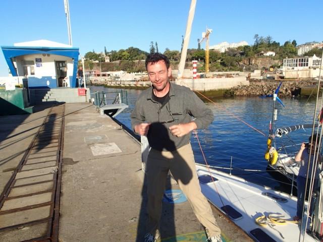Nach seinem 3.Törn hat es endlich geklappt – Andreas betritt Madeira