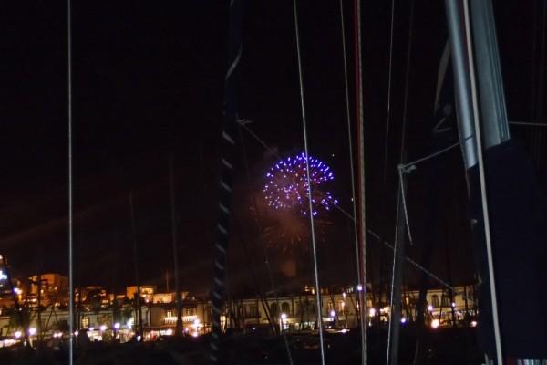 Neujahr in Puerto de Mogan