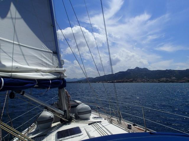 Segeln vor Korsika