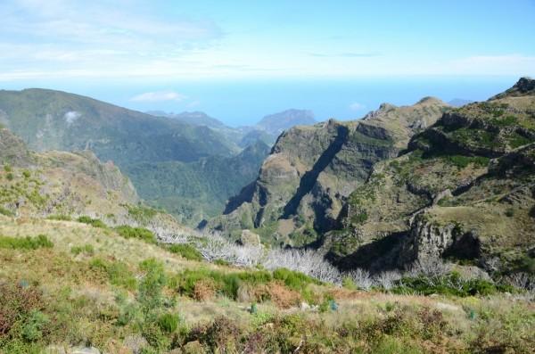 Wundervolle Landschaft auf Madeira