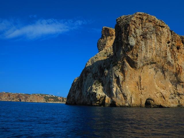 entlang der Küste von Mallorca