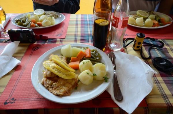 Madeiras Spezialität – der Degenfisch mit Banane – darf natürlich nicht fehlen