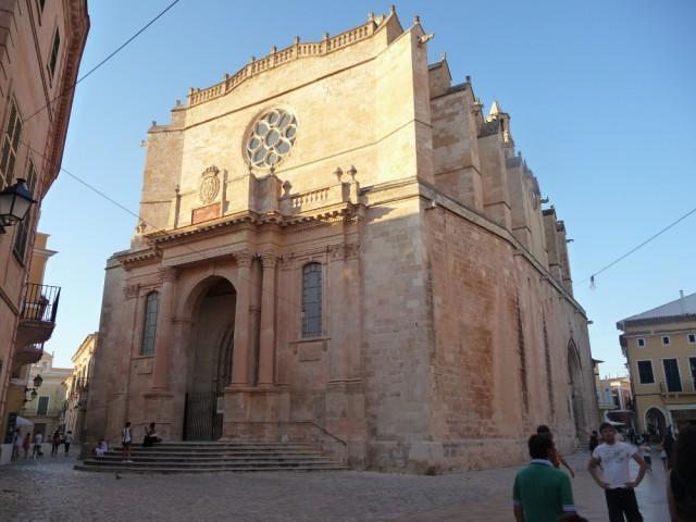 die Altstadt von Ciutadella