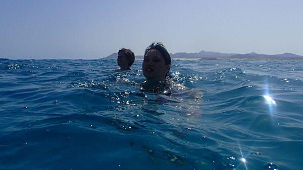 Erfrischendes Bad im Nordatlantik