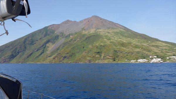 Tolles Segeln bei den Liparischen Inseln