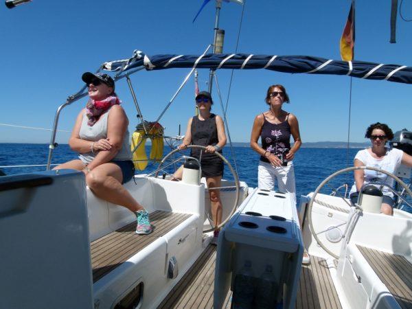 Kurs Elba bei besten Segelbedingungen