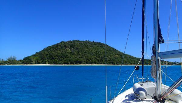 Der perfekte Traum einer karibischen Insel
