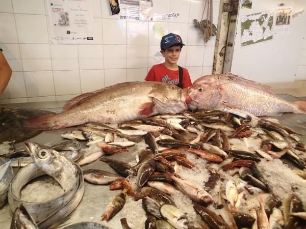Wenn ich mal groß bin werd ich auch Fischverkäufer