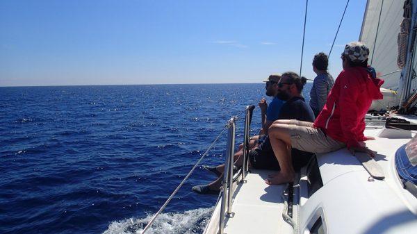 Chilliges Segeln vor Sardinien