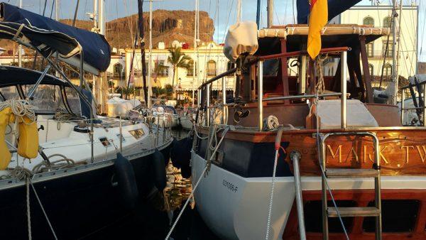 Die Habib in Puerto de Mogan