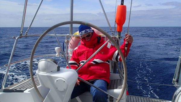 Easy Sailing – das gibt es auch nicht oft, der Rudergänger ist eingeschlafen (InsPIRATion)