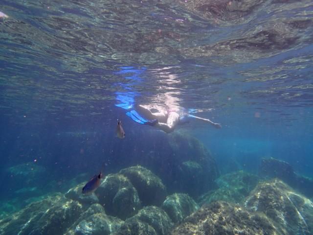 unter Wasser…