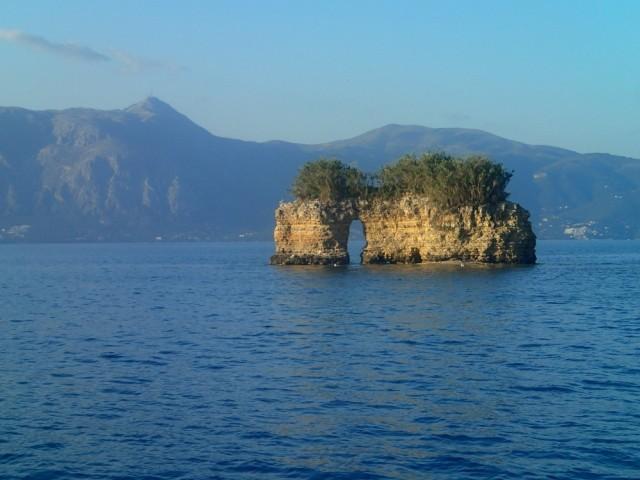 Tolle Felsenlandschaft bei Korfu