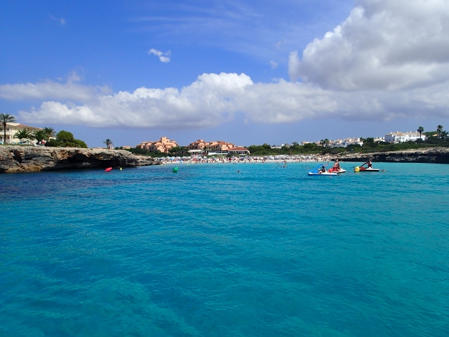 tolle Buchten bei Menorca