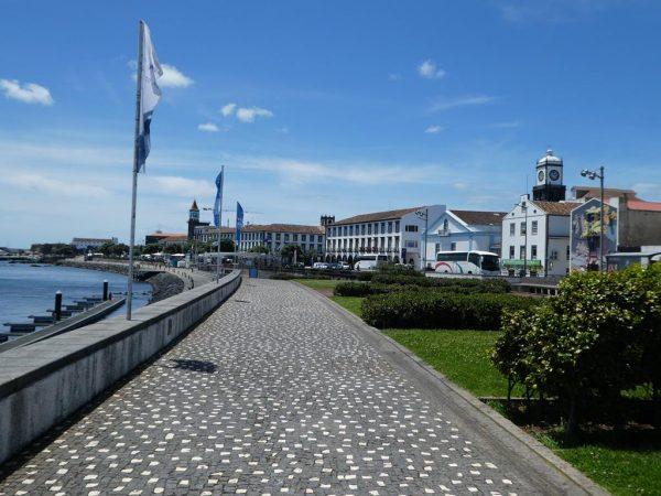 Auch in Ponta Delgada auf Sao Miguel gibt es tolle Gebäude