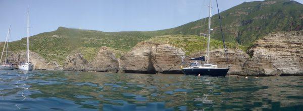 Baden bei den Liparischen Inseln