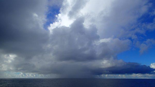 Gottseidank – der Regenschauer ging an uns vorüber