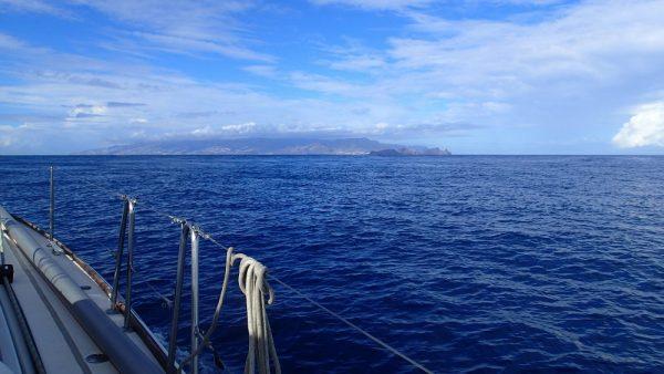 Nach viereinhalb Tagen, Madeira voraus