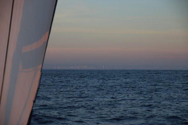 Land in Sicht!! Das portugiesische Festland liegt vor uns