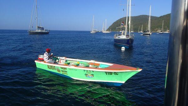 Albert, unser Guide auf Dominika