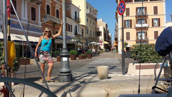 Monika hat mit der Habib in La Maddalena festgemacht, eine der Inseln des gleichnamigen Maddalena Archipels bei Sardinien