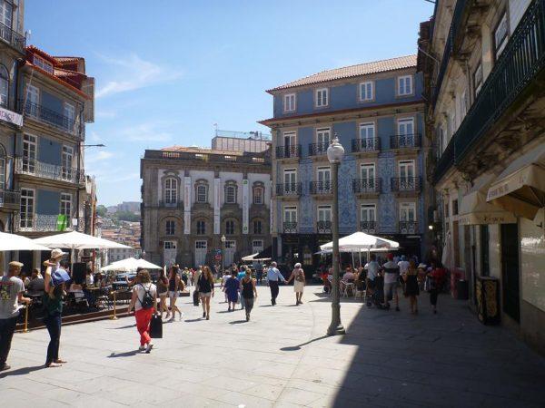 Stadtbesichtigung Porto bei bestem Wetter