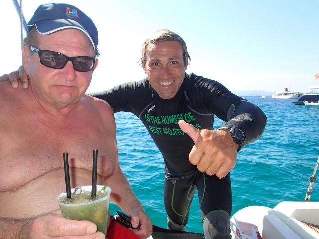 the best mojito in Ibiza_the Mojito Man