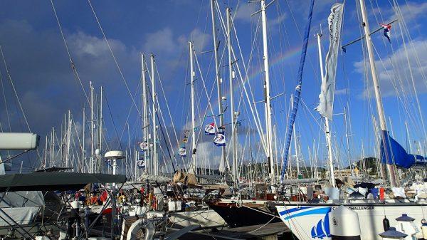 Die glücklichen ARC Teilnehmer finden sich in der Rodney Bay Marina auf St. Lucia ein