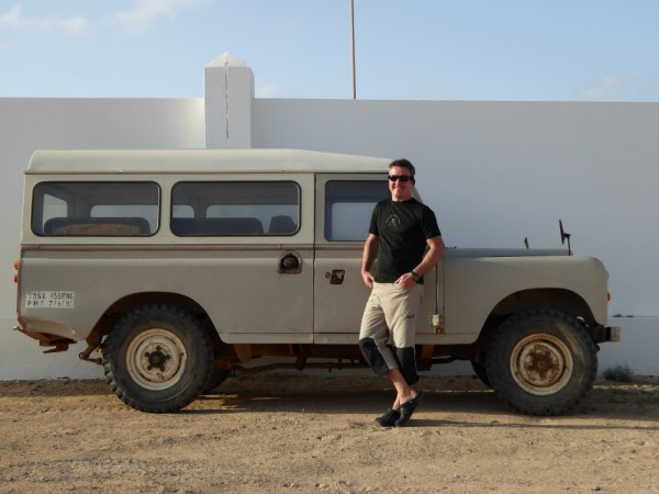 Auf La Graciosa gibt es nur einen Autotyp – Defender