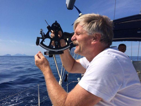 Astronavigation – auf dem schwankenden Schiff gar nicht so einfach!