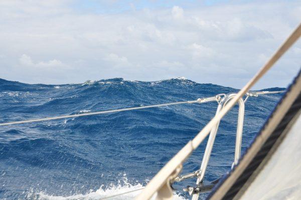 und auch die Wellen werden höher