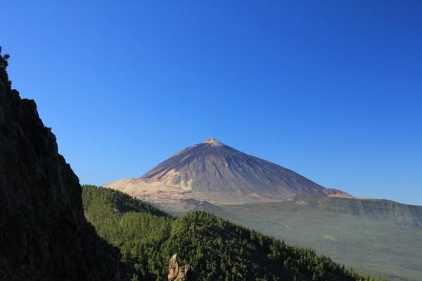 Der Teide, mit 3718m der höchste Berg Spaniens