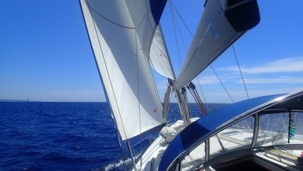 Tolles Segeln bei perfektem Wind (InsPIRATion)
