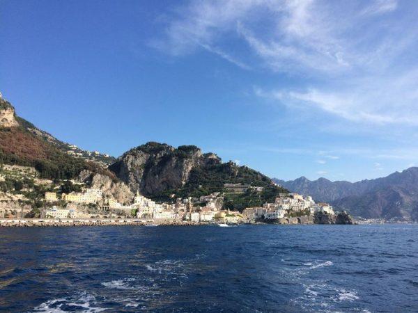 Segeln entlang der Amalfi Küste