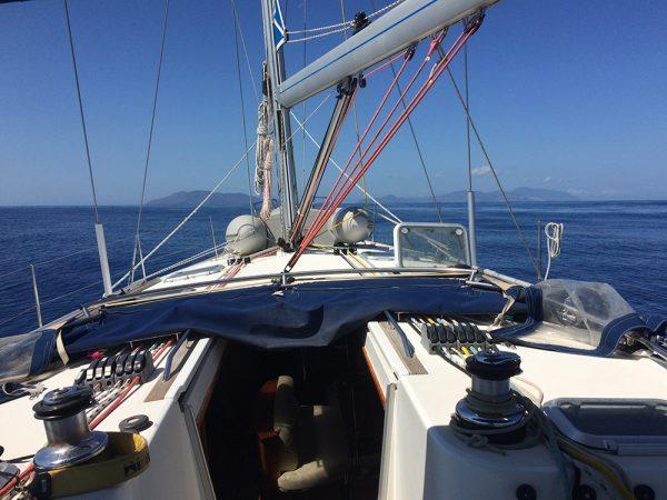 Wir sind zwischen Italiens Inselwelt unterwegs