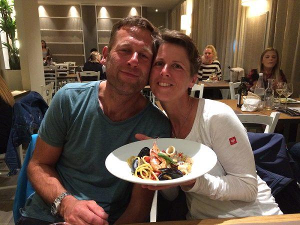 """Letzter Mittelmeer-Törn und letztes Abendessen in unserem Lieblingsrestaurant """"Mama"""" in Scarlino"""