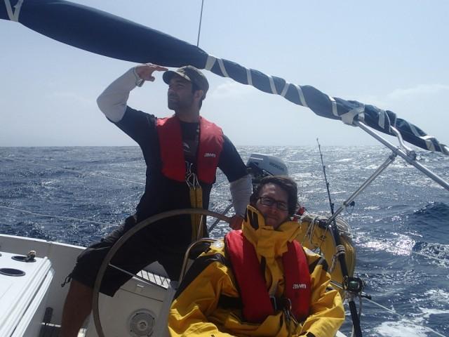 Tolles Segeln bei Gran Canaria