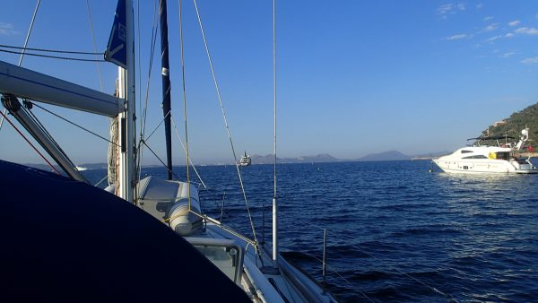 schöne Aussicht vor Mallorca