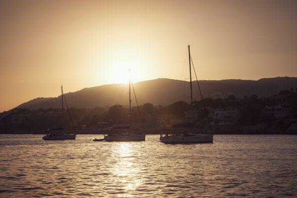 Abendstimmung vor Mallorca