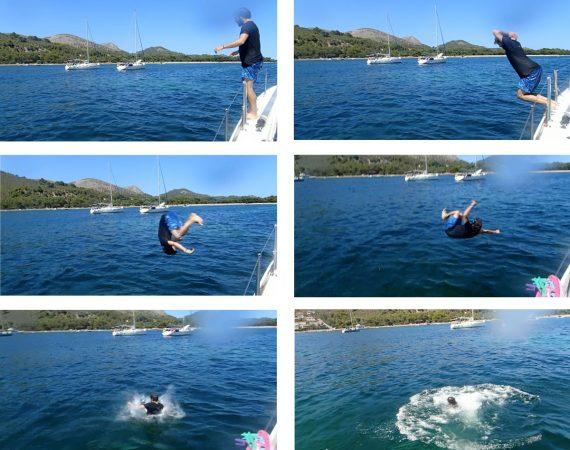 Der Sprung ins Wasser